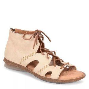 Born women's Nea Gladiator Sandal Nubuck Leather